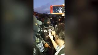 h14 honduras police refuse curfew
