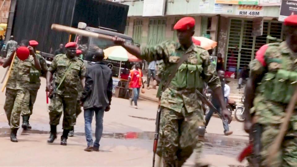 H5 uganda protest crackdown