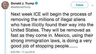 H4 trump tweet ice illegal immigrants