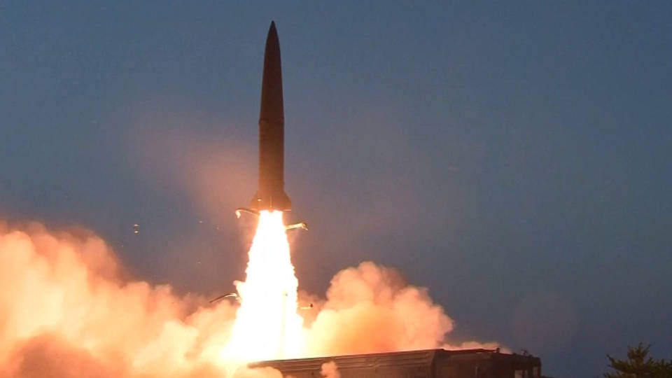 H8 north korea test fires two rockets over sea of japan