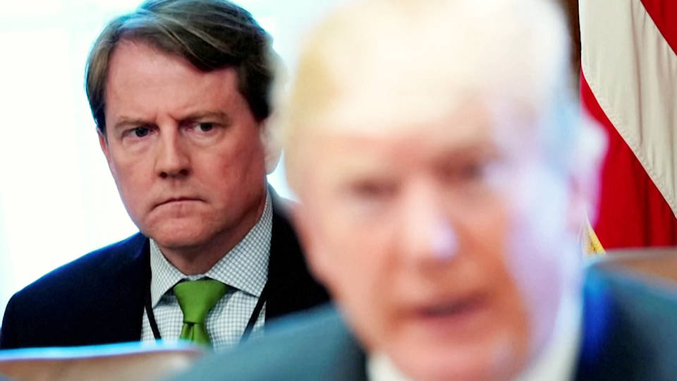 H1 judge rules trump cant stop officials from testifying impeachment inquiry donald mcgahn