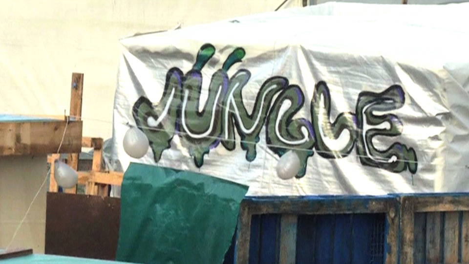 Hdlns5 calais refugee camp jungle