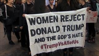 H5 anti trump protest