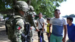 H3 mexico military troops soldiers border guatemala trade deal usa