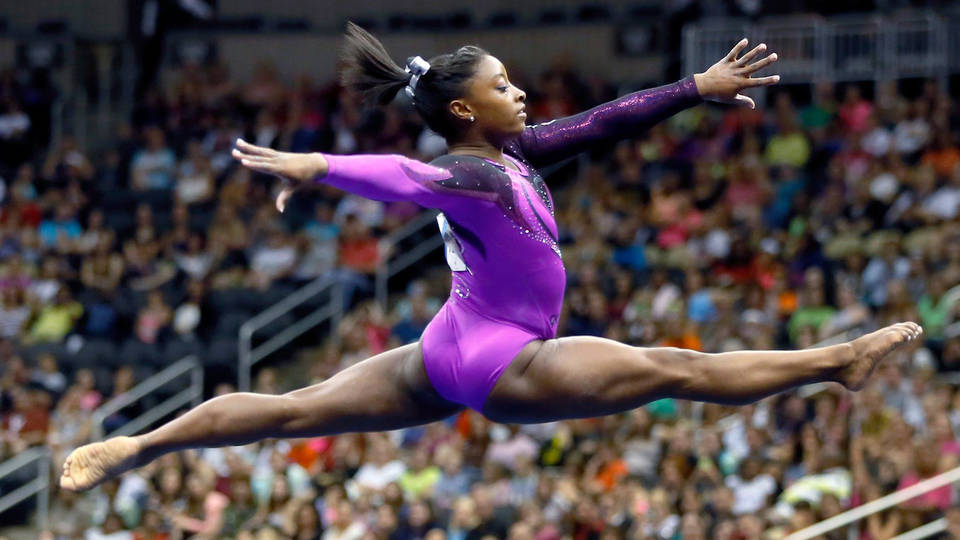H11 simone biles first balance beam dismount floor competition firsts sexual assault larry nassar usa gymnastics