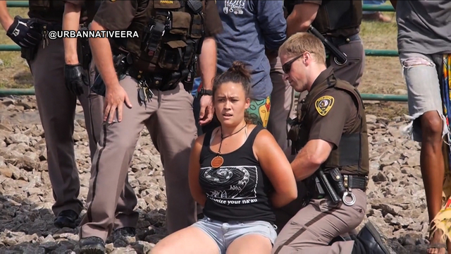 Dapl arrests morton county trial