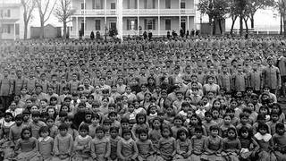 H14 native american child remains repatriated from boarding schools