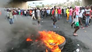 H7 haiti protest