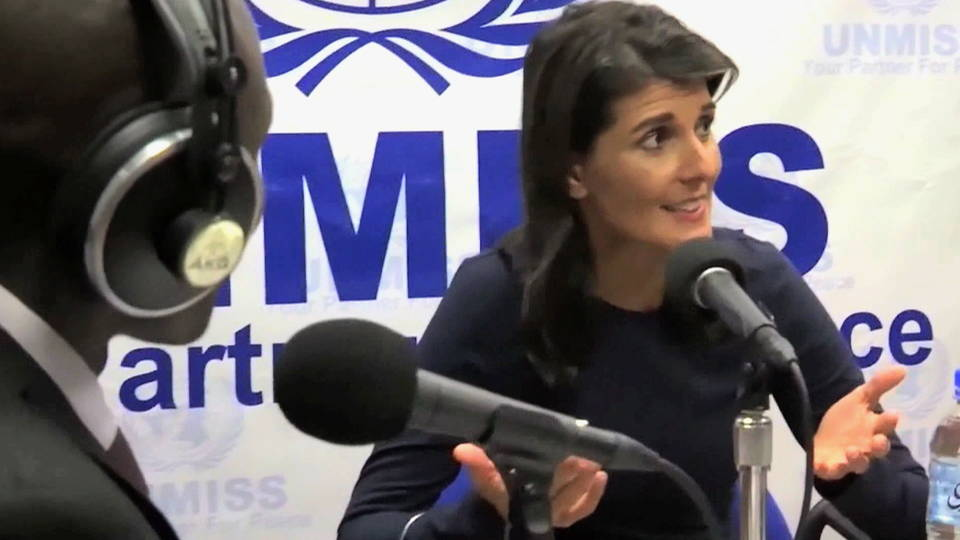 h10 nikki haley south sudan