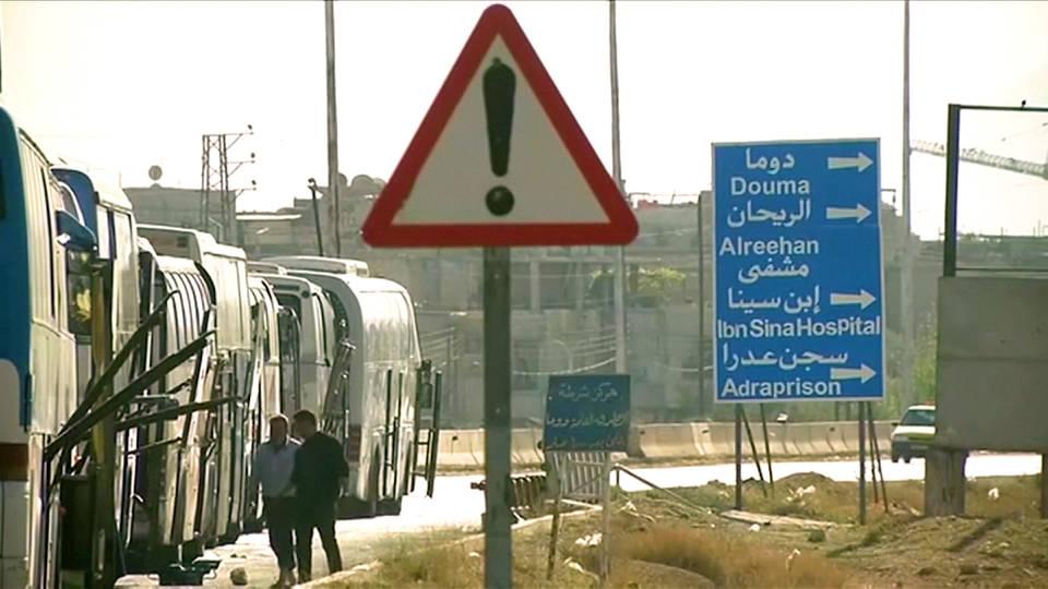 H9 ghouta syria evacuation