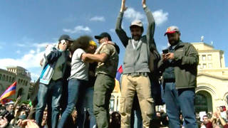 H12 armenia president steps down after protests