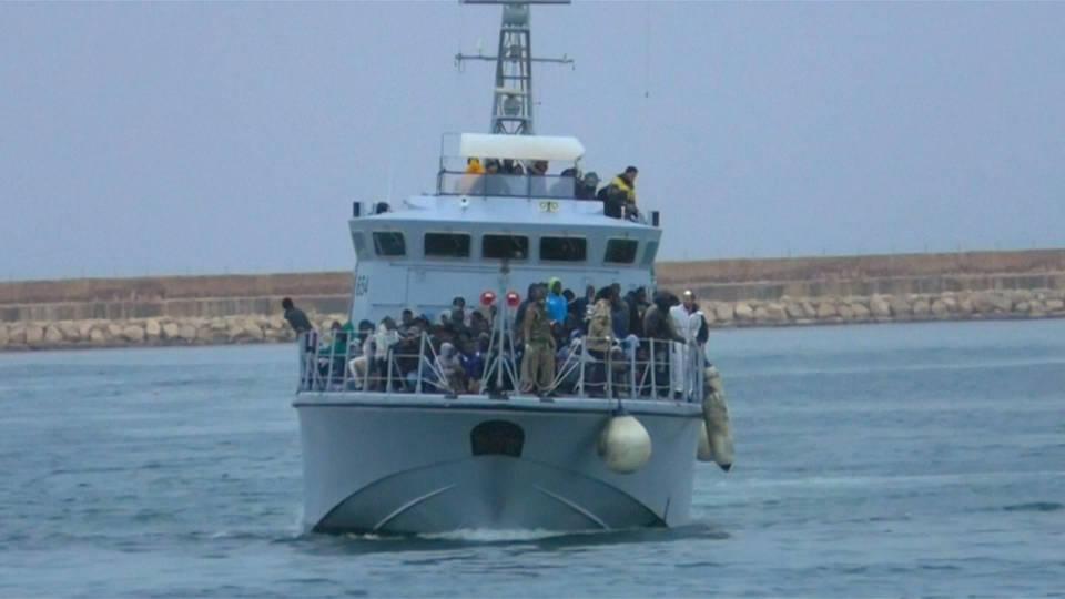 H6 tunisia migrant boat sinks 46 dead