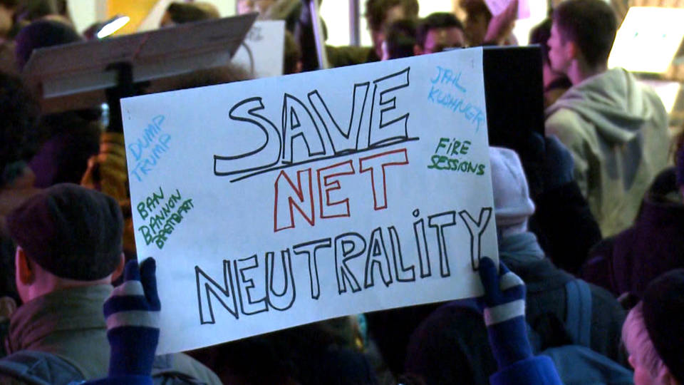 H13 net nuetrality protest sign