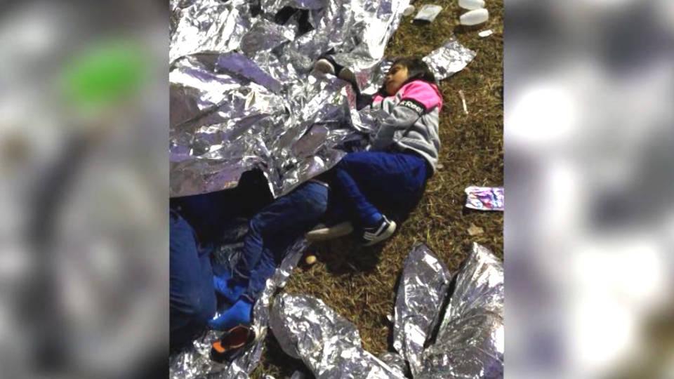 H5 mcallen texas migrant children border patrol sleeping outside cnn