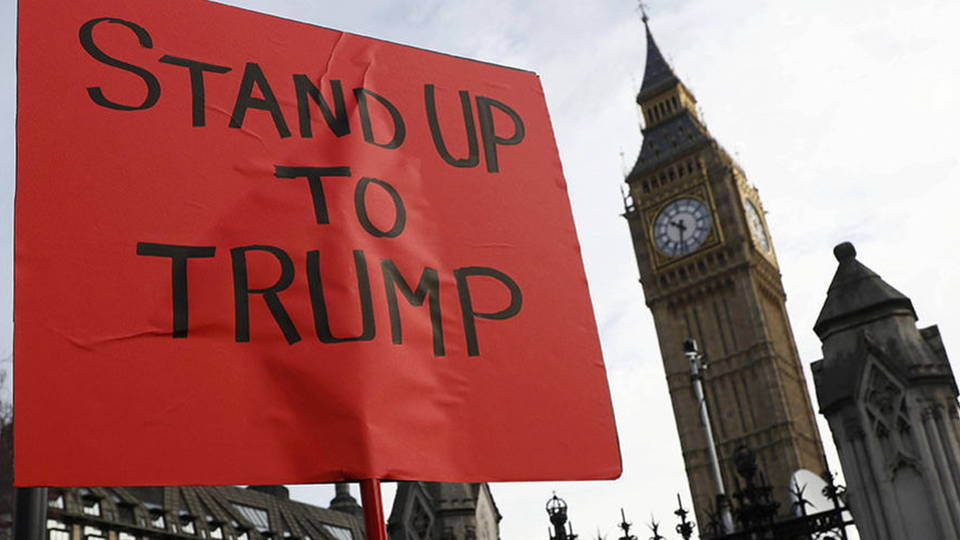H02 london protest trump