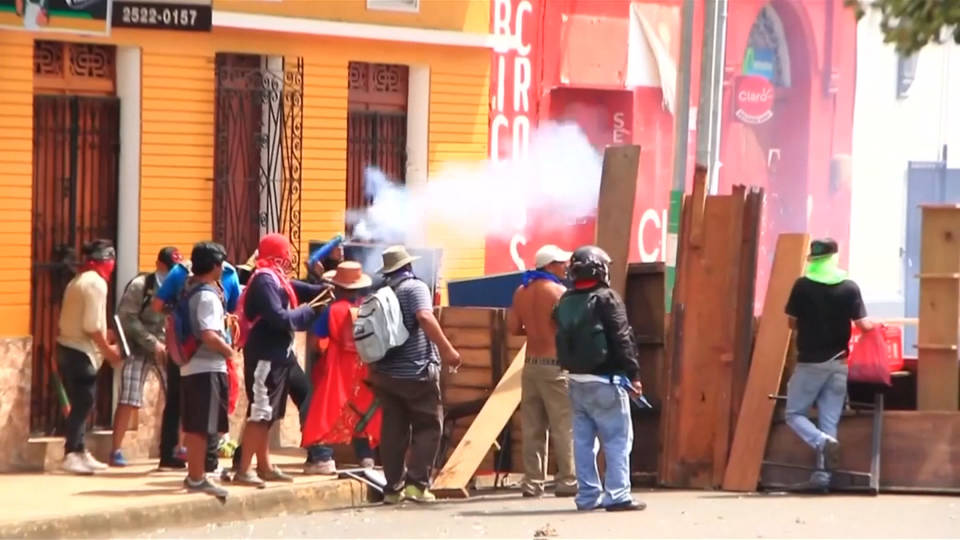 H7 anti government protests nicaragua