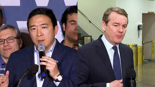 H2 andrew yang michael bennet drop out presidential race