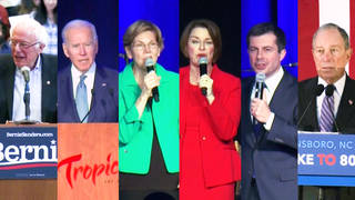 H3 democratic presidential candidates take debate stage innevada