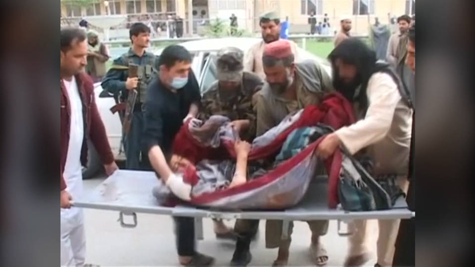 H11 afghanistan airstrike 70 dead