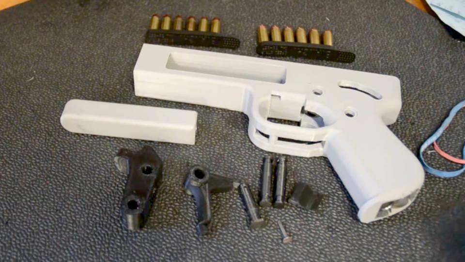 H7 3d printed guns