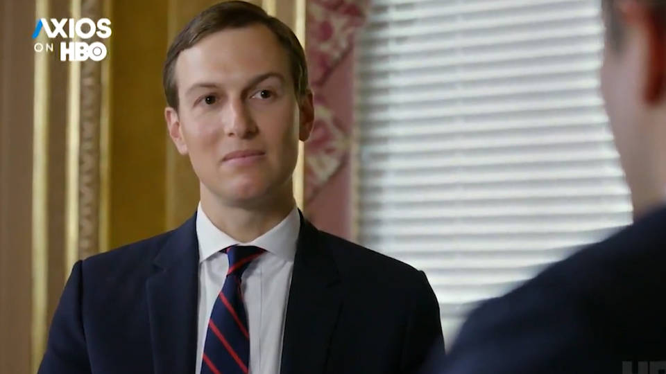H11 kushner hbo axios trump birtherism palestine