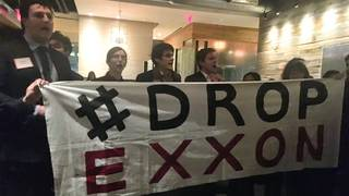 H9 harvard law students protest paul weiss exxonmobil