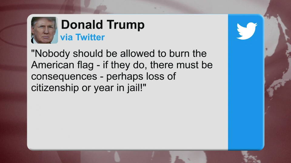 H04 trump flag burn tweet