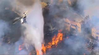 H8 california wildfire