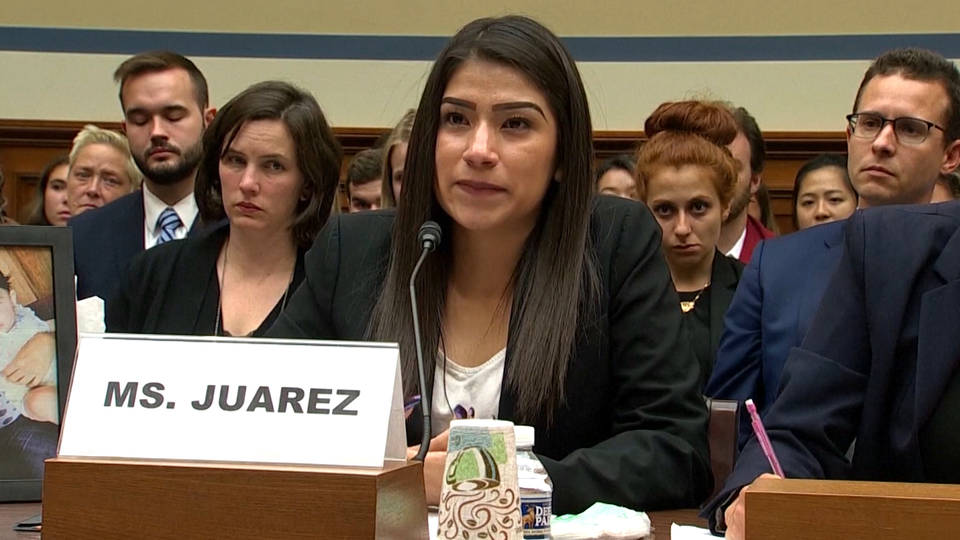 H3 yazmin juarez mariee daughter died us detention facility ice house testimony migrant deaths immigration dilley texas