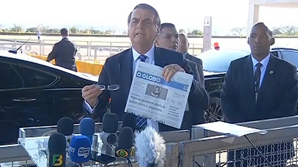 H2 brazil bolsonaro rejects g7 amazon aid wildfires