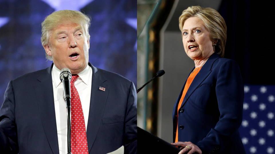 Clinton trump unpopular