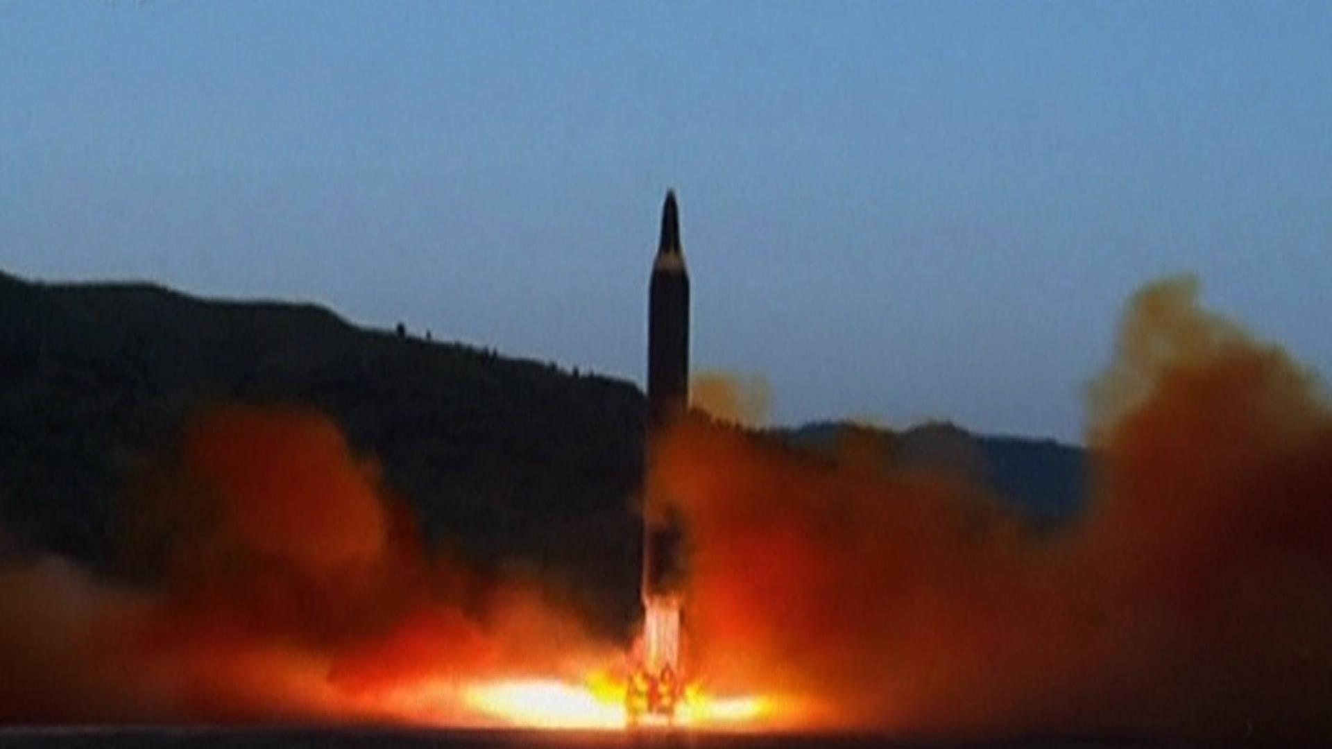 North Korea Launches Latest Ballistic Missile Test ...