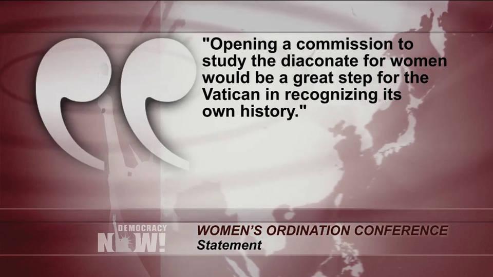 Hl3 pope ordination women