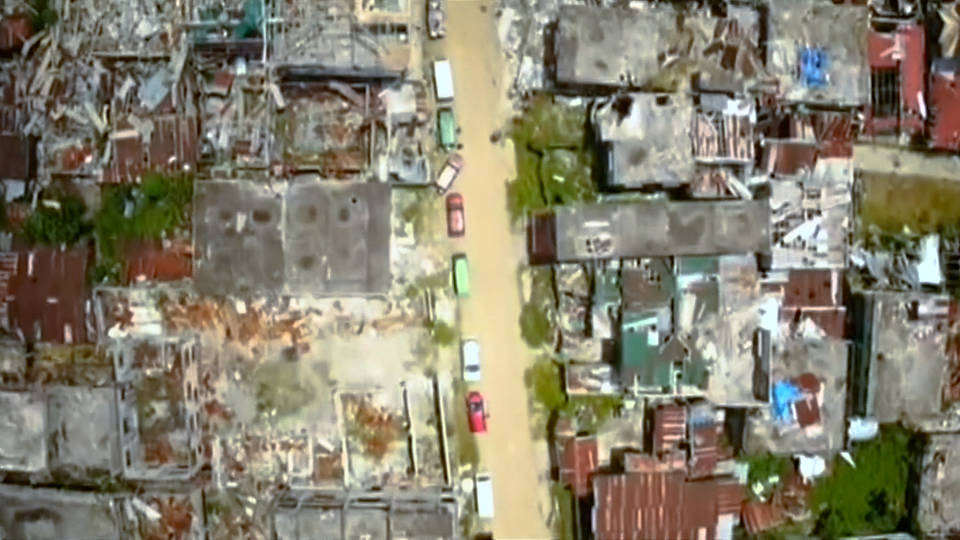 H13 marawi philippines destruction