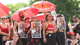 H11 sex worker rights protest sesta