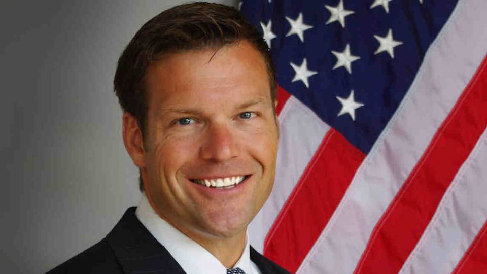H6 chris kobach wins kansas republican gubernatorial primary