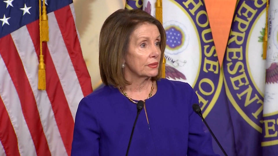 Nancy Pelosi Says It's 'Not Worth It' to Impeach President Trump