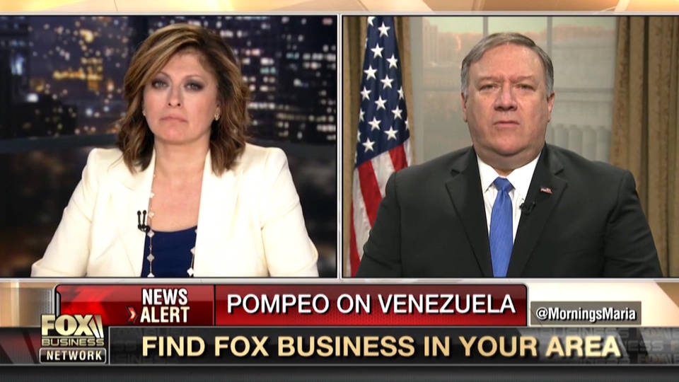 H2 pompeo military action us venezuela
