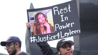 H15 nyc layleen polanco rikers death rally protest transgender