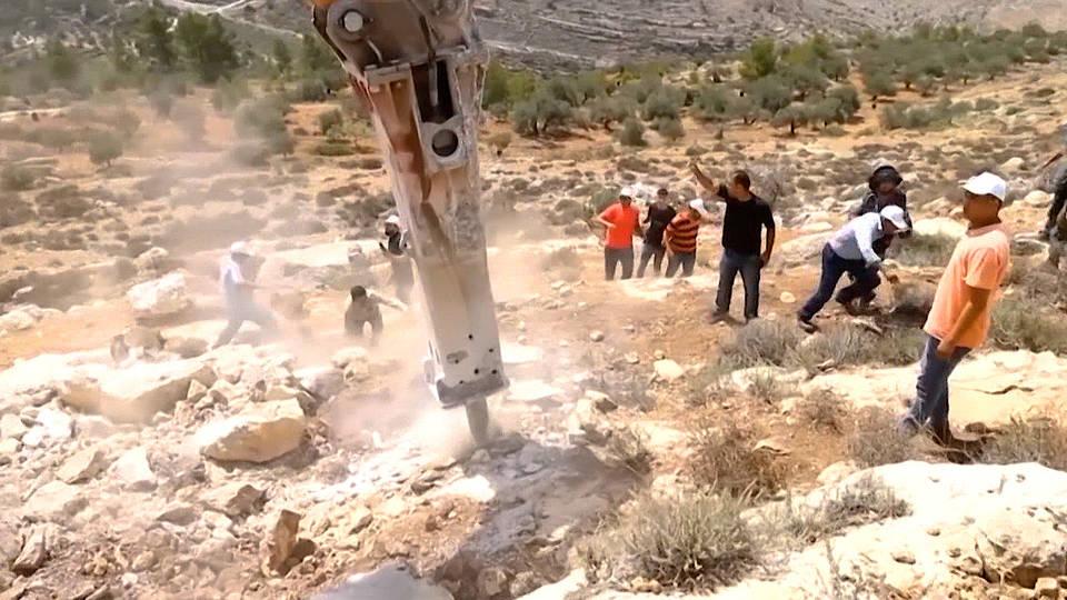 H2 netanyahu west bank annexation snap election palestine war crime