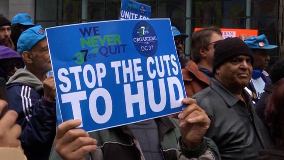 H11 hud protest