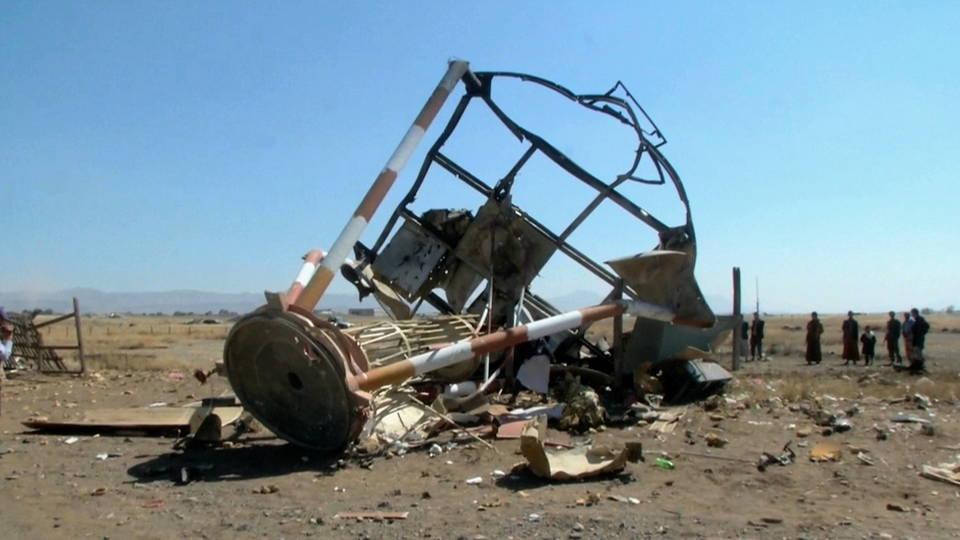 h09 saudi bomb yemen airport
