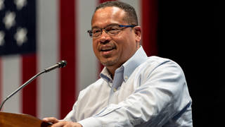 H4 keith ellison wins mn ag primary amid abuse allegations