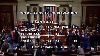 H1 house approves resolution aimed limiting trumps war powers