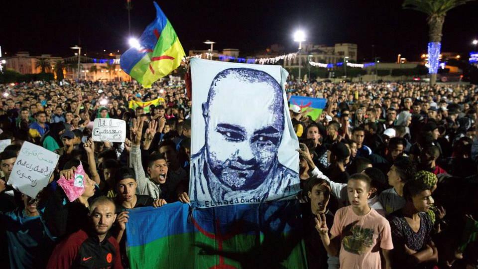 H08 morocco protest