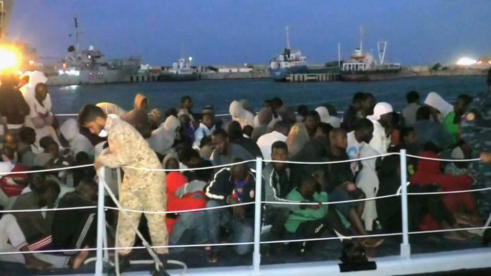 h10 libyan migrant detention