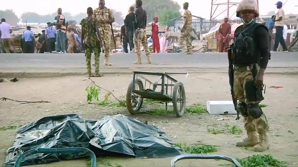 h14 nigeria suicide blast