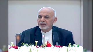 H8 afghan president taliban peacetalks