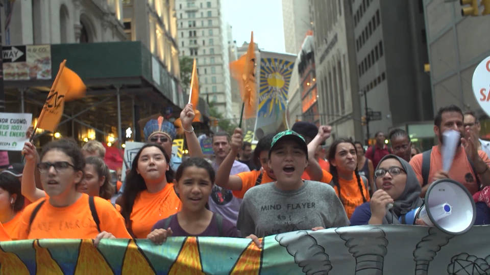 H17 climate march nyc