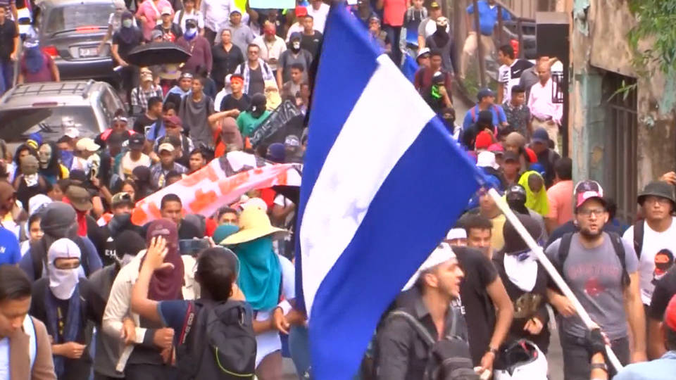 H5 honduras protests education healthcare privatization